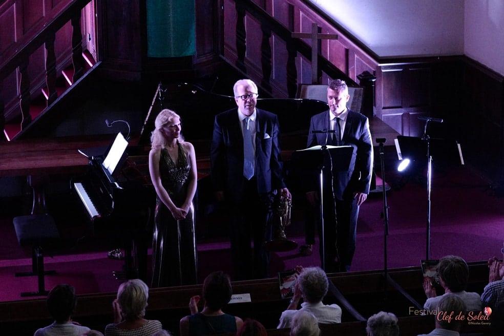 Galina Ermakova, Pascal Bourgeois et Denis Simándy