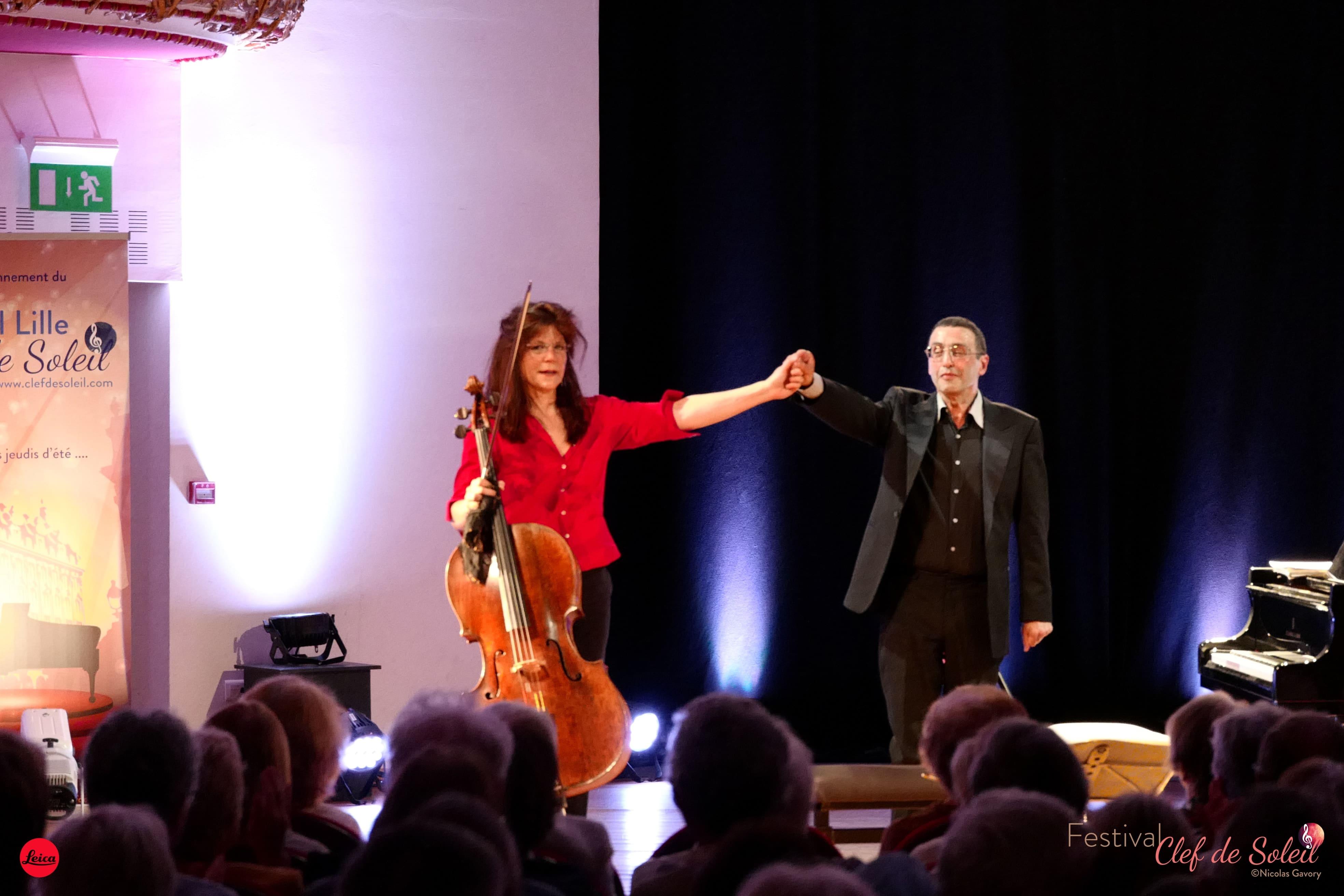 Sonia Wieder-Atherton et Alexander Paley