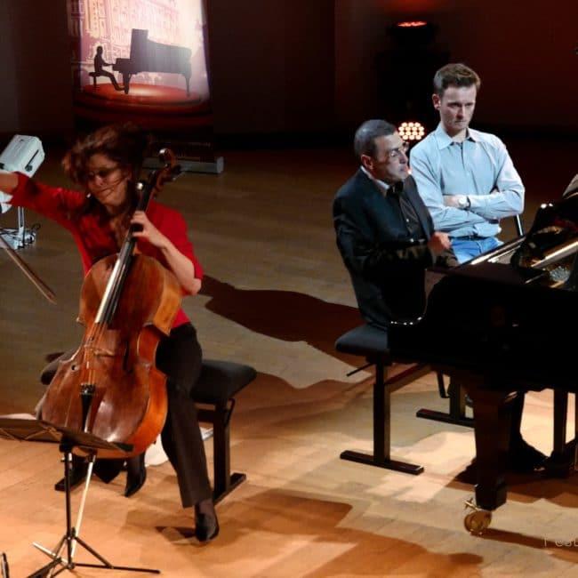 Sonia Wieder-Atherton, Alexander Paley et Loïc Serrurier