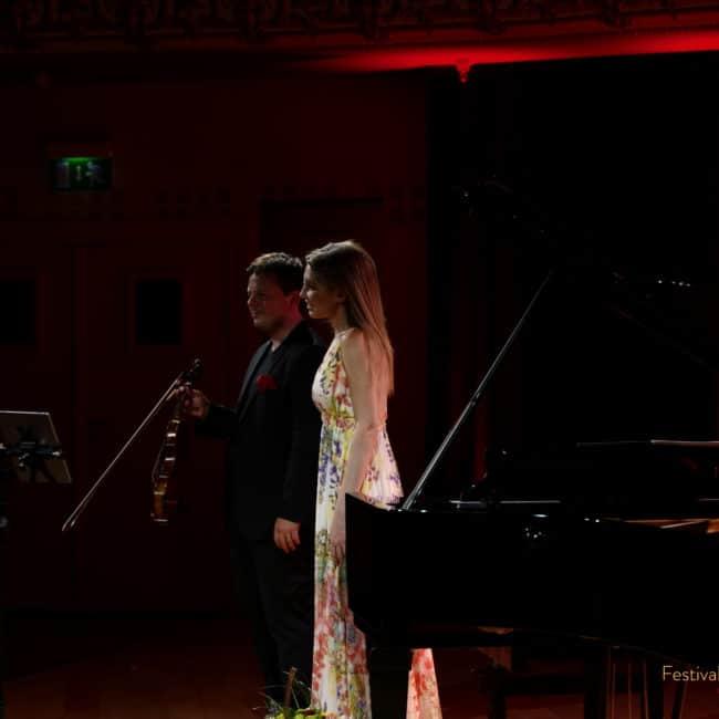 Gautier Dooghe et Vanessa Benelli Mosell