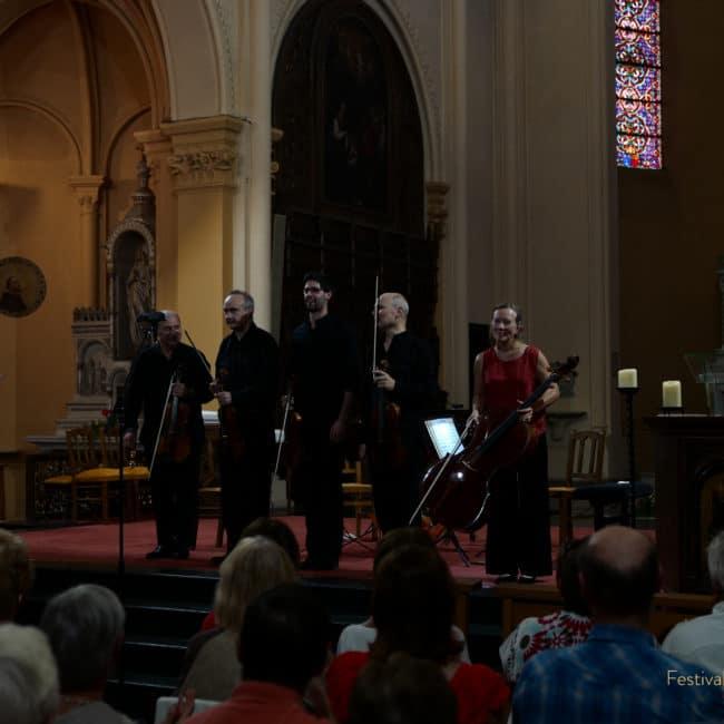 Quatuor Ludwig et Christophe Desjardins