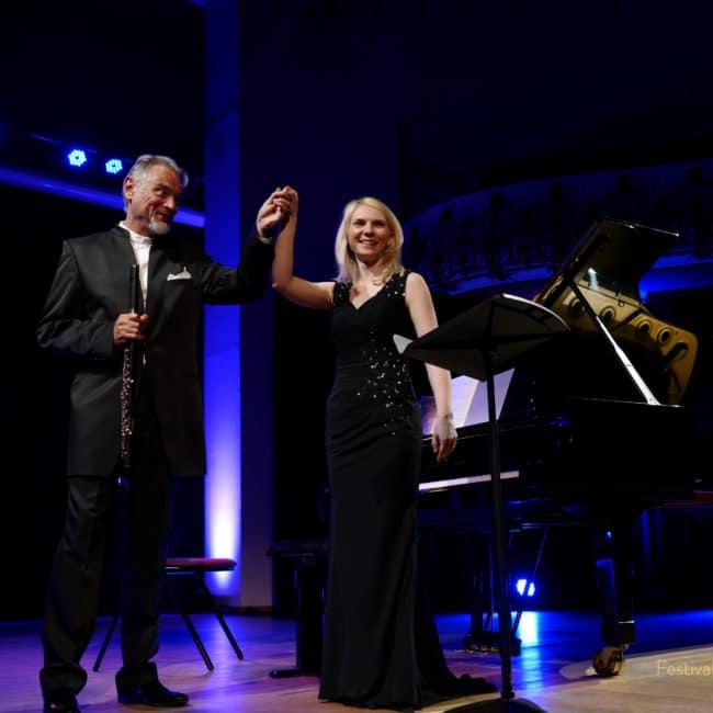 Patrick gallois et Galina Ermakova