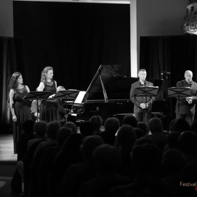 Alexander Paley, Barbara Vignudelli, Pauline Leroy, Mark Pancek et Pascal Bourgeois