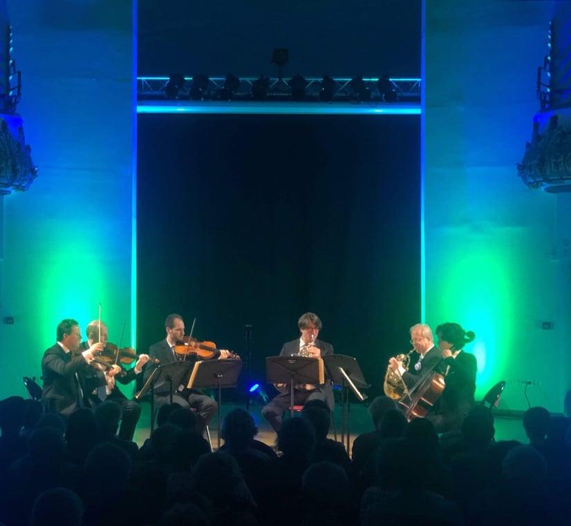 Hervé Joulain, Denis Simándy et le Quatuor La Notte Bleue