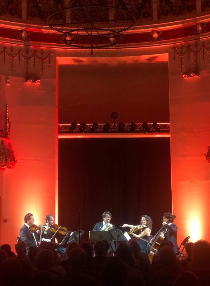 Hervé Joulain et le Quatuor La Notte Bleue au Festival Lille Clef de Soleil