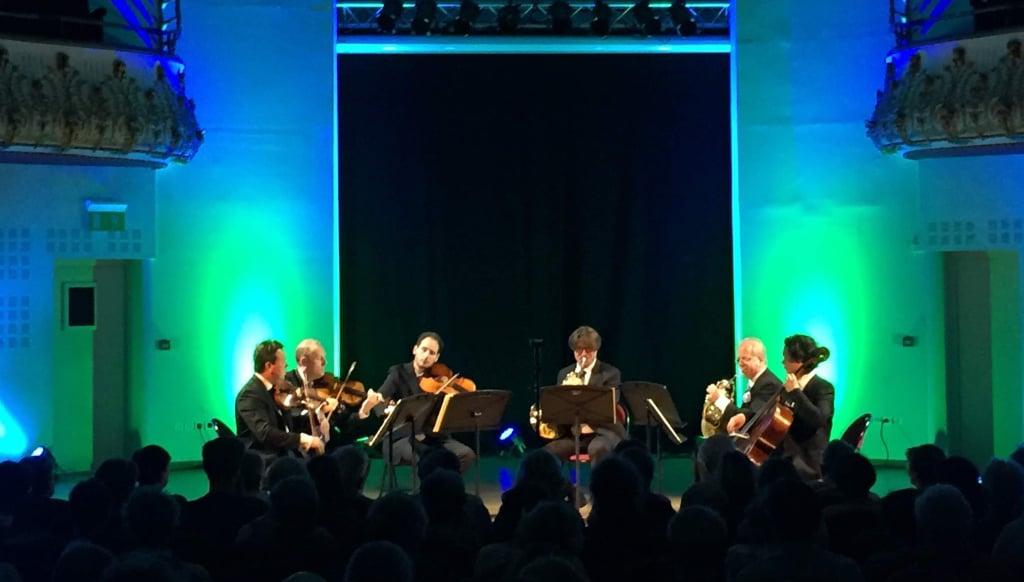 Hervé Joulain, Denis Simándy et le Quatuor La Notte Bleue au Festival Lille Clef de Soleil